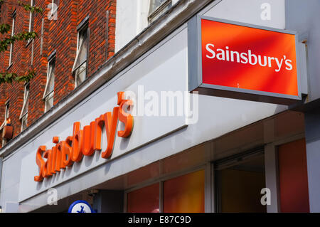 sainsburys supermarket london united kingdom 1999 stock. Black Bedroom Furniture Sets. Home Design Ideas