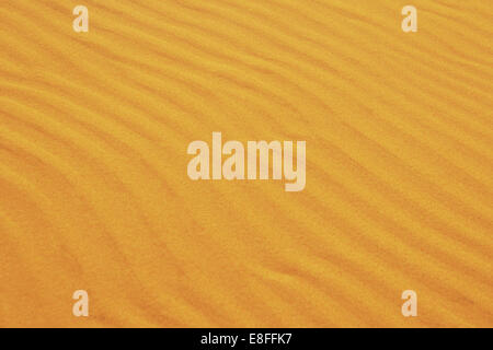 Close up of ripples in sand - Stock Photo