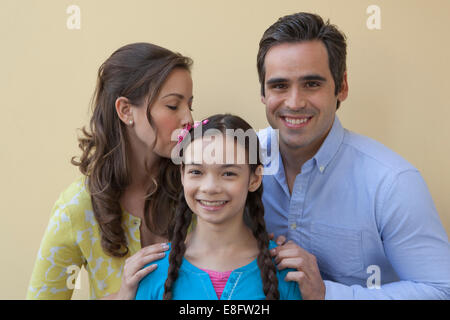 View of Family portrait - Stock Photo