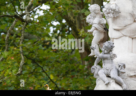 Heiligenkreuz Abbey. Angels. - Stock Photo