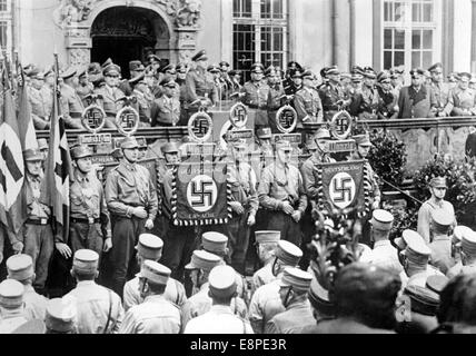nazi germany propaganda speech Hitler's propaganda in the form of images and information alone had a very profound impact on german society after the seizure of power by the nazis in 1933, hitler established a ministry of public enlightenment and propaganda headed by joseph goebbels.
