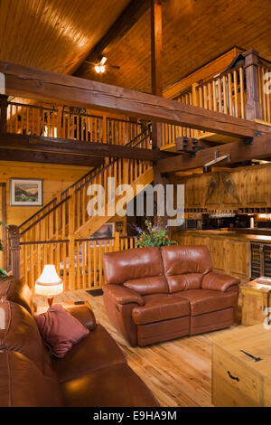 A Cosy Cottage Living Room With A Log Burning Stove