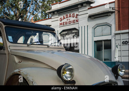 old citroen 2cv cars in ougadougou stock photo royalty. Black Bedroom Furniture Sets. Home Design Ideas
