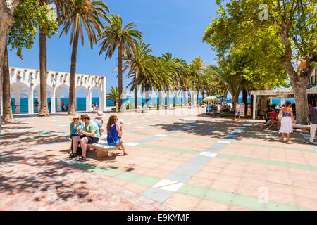 balcon de europa nerja malaga province region of andalusia spain stock photo 78980603 alamy. Black Bedroom Furniture Sets. Home Design Ideas