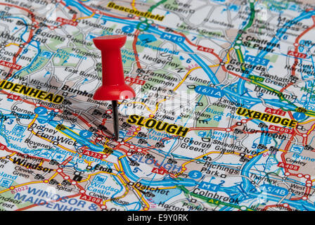 europe UK England Berkshire Slough A4 Stock Photo 74342516 Alamy
