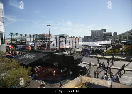 Las Vegas, NV, USA. 5th Nov, 2014. Atmosphere in attendance for The 2014 SEMA Show - WED, Las Vegas Convention Center, - Stock Photo