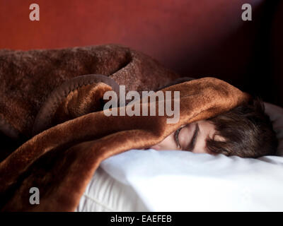 sleeping boy - Stock Photo