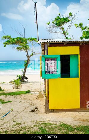 Long bay, Port Antonio, Jamaica, West Indies, Caribbean, Central America. - Stock Photo