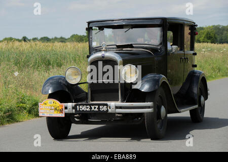 citroen c4 berline 1930 tour de bretagne classic car rally 2008 cotes stock photo royalty free. Black Bedroom Furniture Sets. Home Design Ideas