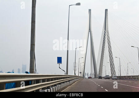 india Mumbai  Bridge  Flyover - Stock Photo