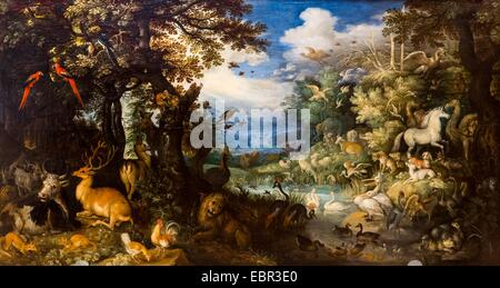 ActiveMuseum0003226.jpg / The Flood, XVIIe - Roelandt Savery 19/09/2013  -   / 17th century Collection / Active - Stock Photo
