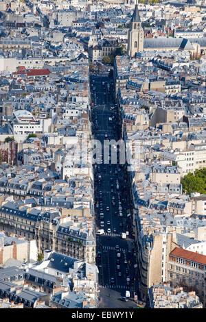 city view of Paris, France, Paris - Stock Photo