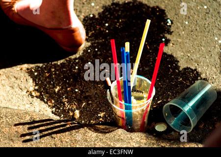 Garbage Amp Plastic Lying On A Dirty Beach In Mumbai India