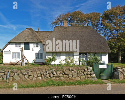 Museum of Local History in Keitum, Schleswig Holstein, Germany - Stock Photo