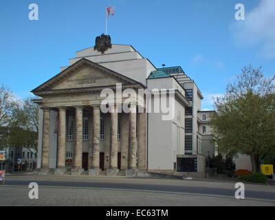 regional theater Detmold - Stock Photo