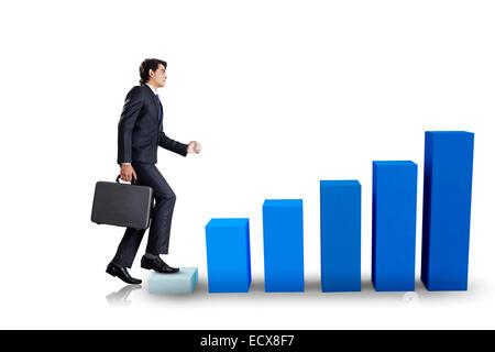 1 indian Business Salesman - Stock Photo