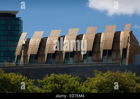 Architectural detail on building Melbourne Victoria Australia - Stock Photo