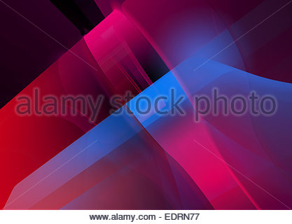 Abstract full frame blue and pink backgrounds pattern - Stock Photo