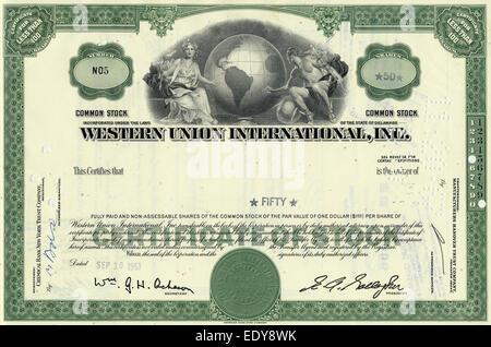 Money Finances Stocks Share Of The The International