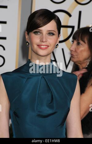 Los Angeles, CA, USA. 11th Jan, 2015. Jan 11, 2015 - Los Angeles, CA, United States - Actress FELILos Angeles JONES - Stockfoto