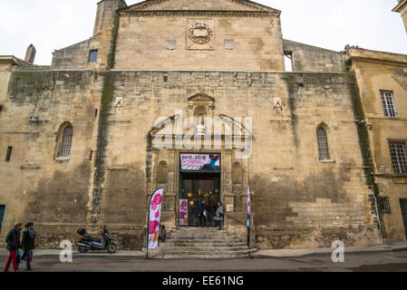 Historic building on Place de la Republique, Arles, Bouches-du-Rhone, France - Stock Photo