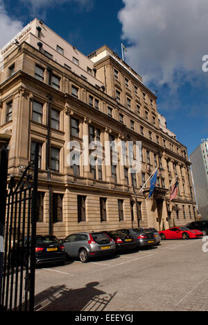 vermont hotel and moot hall, newcastle upon tyne stock