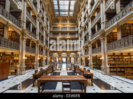 Interior Of The 19thc George Peabody Library Peabody Institute Stock Photo 77996786 Alamy