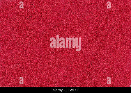 Background of tiny red metallic balls - Stock Photo