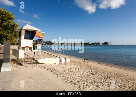 Ala Moana Beach Park Lifeguard Tower