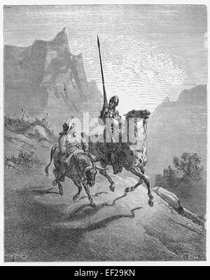 an analysis of the protagonist in the novel don quixote written by miguel de cervantes The ingenious nobleman sir quixote of la mancha or just don quixote (/ˌdɒn k iːˈhoʊti/, us: /-teɪ/ spanish: [don kiˈxote] ( about this sound listen)), is a spanish novel by miguel de cervantes  cervantes wrote that the first chapters were taken from the archives of la mancha, and the rest were translated from an.