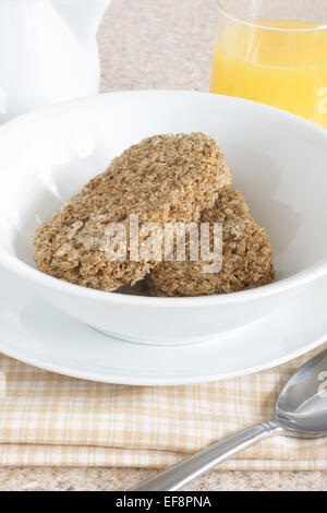 wheat biscuits breakfast cereal with milk jug and orange juice ef8pna Orange Coffee Table Heart Shaped Fried Eggs Bread And Orange Juice Stock Photo Image