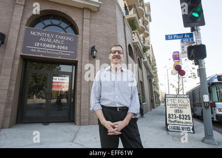Los Angeles, USA. 19th Jan, 2015. Brian Kite, Architect at SRK Architects. © Ringo Chiu/ZUMA Wire/Alamy Live News - Stock Photo