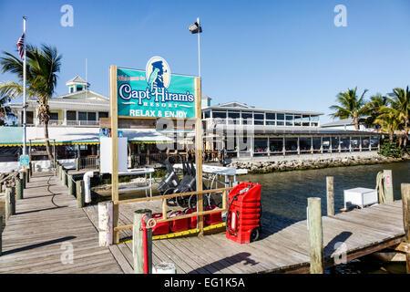 Captain Hiram S Restaurant In Sebastian Florida
