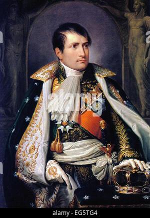 Andrea Appiani  Napoleon, King of Italy - Stock Photo