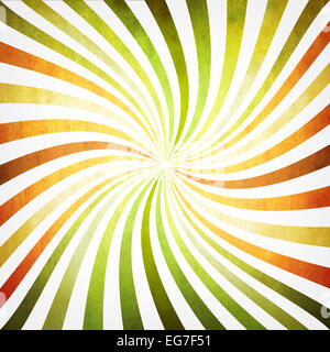 Background with multicolored twisted rays - Stock Photo