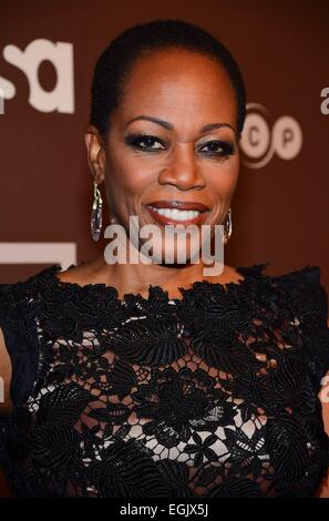 New York, NY, USA. 25th Feb, 2015. Regina Taylor at arrivals for DIG Series Premiere on USA Network, Capitale, New - Stock Photo