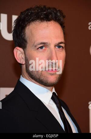 New York, NY, USA. 25th Feb, 2015. Ori Pfeffer at arrivals for DIG Series Premiere on USA Network, Capitale, New - Stock Photo