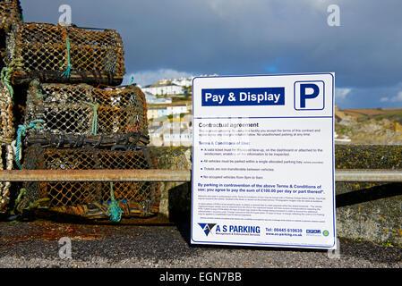 Car Parking In Mevagissey