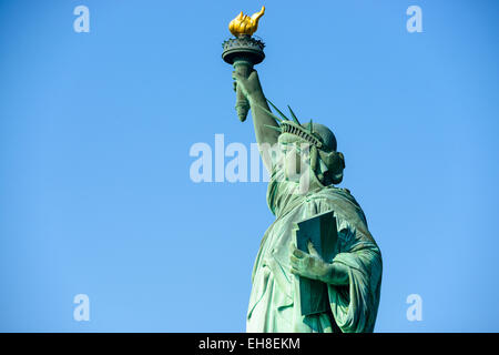 Statue of Liberty in New York City. - Stock Photo