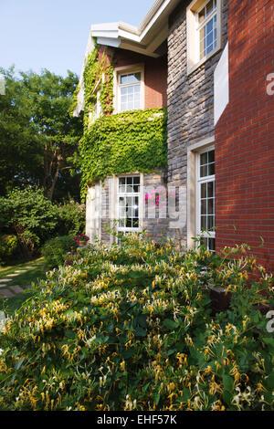 Private villa - Stock Photo