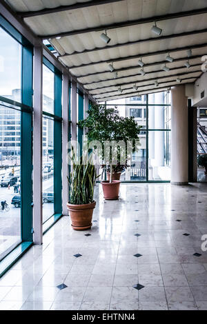 BALTIMORE - MARCH 7: The interior of The Gallery at Harborplace on March 7, 2014 in Baltimore, Maryland. The Gallery - Stock Photo