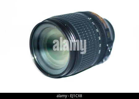 Kits lens with isolated background - Stock Photo