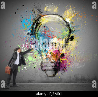 Inspiration to creative ideas - Stockfoto