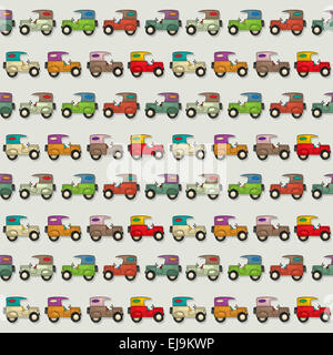 Car Seamless Wallpaper - Stock Photo
