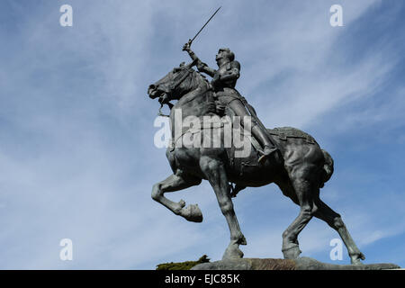 Joan Of Arc Statue Blois France Stock Photo Royalty Free