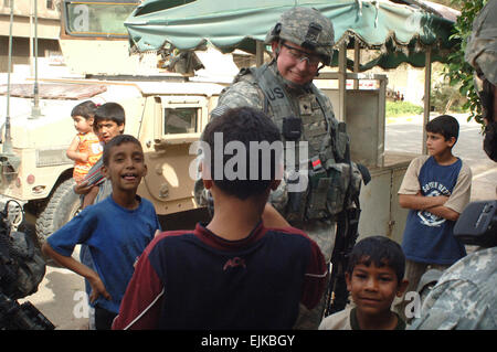 A U.S. Army Soldier from Headquarters and Headquarters ...