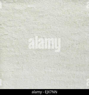 White towel cloth texture - Stock Photo