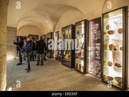 Italy Piedmont Turin Egyptian Museum  new staging - Hall of History Museum - Stock Photo