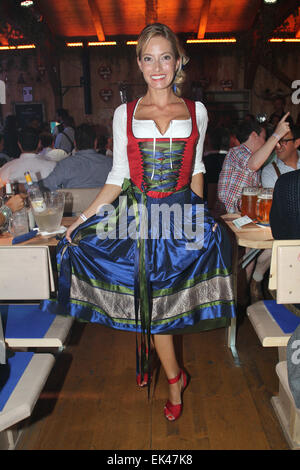 celebrities at the 2014 oktoberfest wiesn at fisch baeda festzelt stock photo royalty free. Black Bedroom Furniture Sets. Home Design Ideas