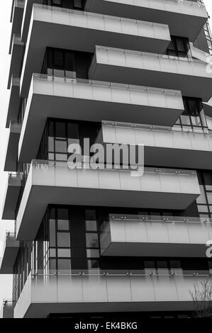 New Building in Milan - Stock Photo